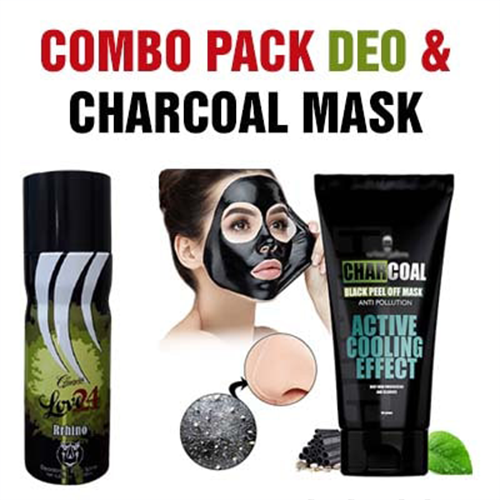 Deo and Charcoal Pack..