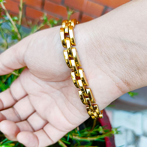 Ethnic Gold Plated Traditional Gold C..