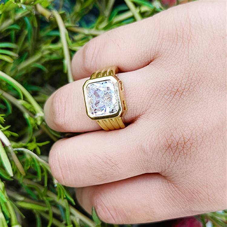 Sterling Silver & Gold Plated Mens Hi..
