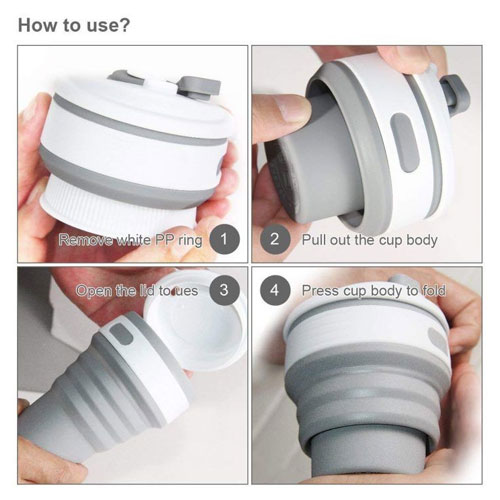 Collapsible Coffee Cup..