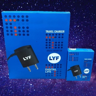 JIO PHONE 1.5 AMP FAST TRAVEL CHARGER..