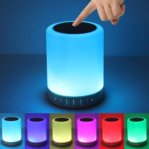 Touch Lamp Portable Bluetooth MP3 Spe..
